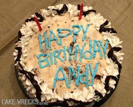 Groovy Happy Birthday To You Me Maybe A Demon Llama Or Two Cake Wrecks Funny Birthday Cards Online Alyptdamsfinfo
