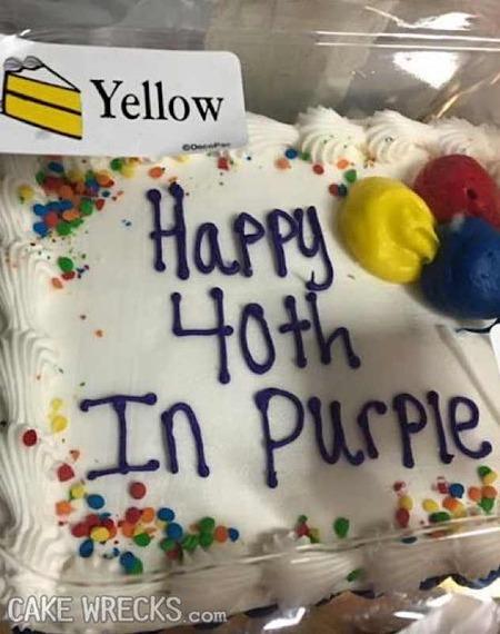 Amazing Directionally Challenged Cake Wrecks Personalised Birthday Cards Paralily Jamesorg