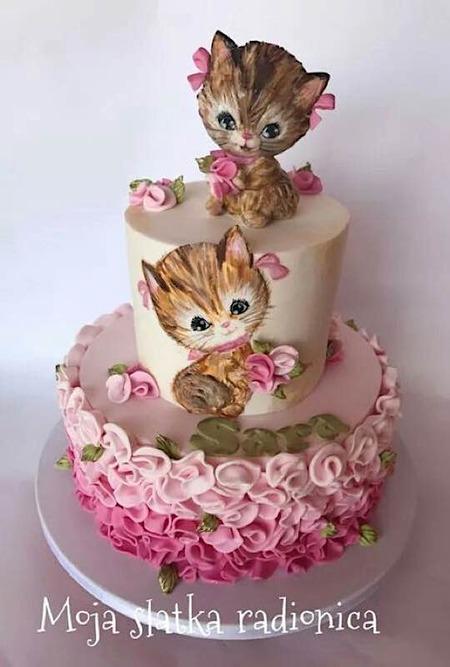 Peachy Sunday Sweets Goes Crazy Cat Lady Cake Wrecks Funny Birthday Cards Online Elaedamsfinfo