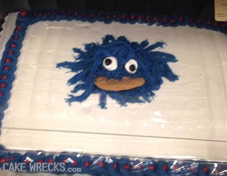 Nightmare On Elmo Street Cake Wrecks