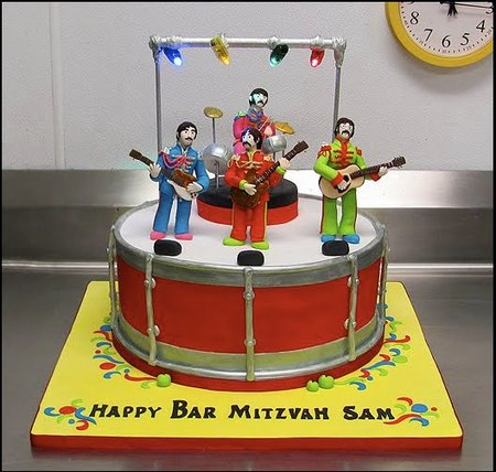 Admirable Sunday Sweets Beatle Mania Cake Wrecks Funny Birthday Cards Online Alyptdamsfinfo