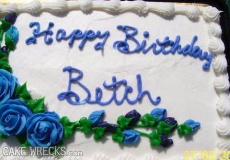 Phenomenal Accidentally Insulting Birthday Cakes Cake Wrecks Personalised Birthday Cards Paralily Jamesorg