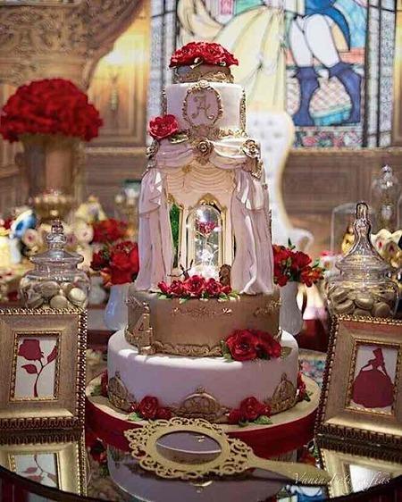 Beauty And The Beast Wedding Cake.Sunday Sweets Disney Princess Wedding Cakes Cake Wrecks