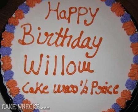 Surprising Lets Ruin Some Birthdays Cake Wrecks Personalised Birthday Cards Paralily Jamesorg