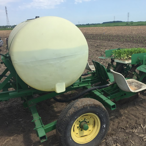 Two Row Vegetable Transplanter