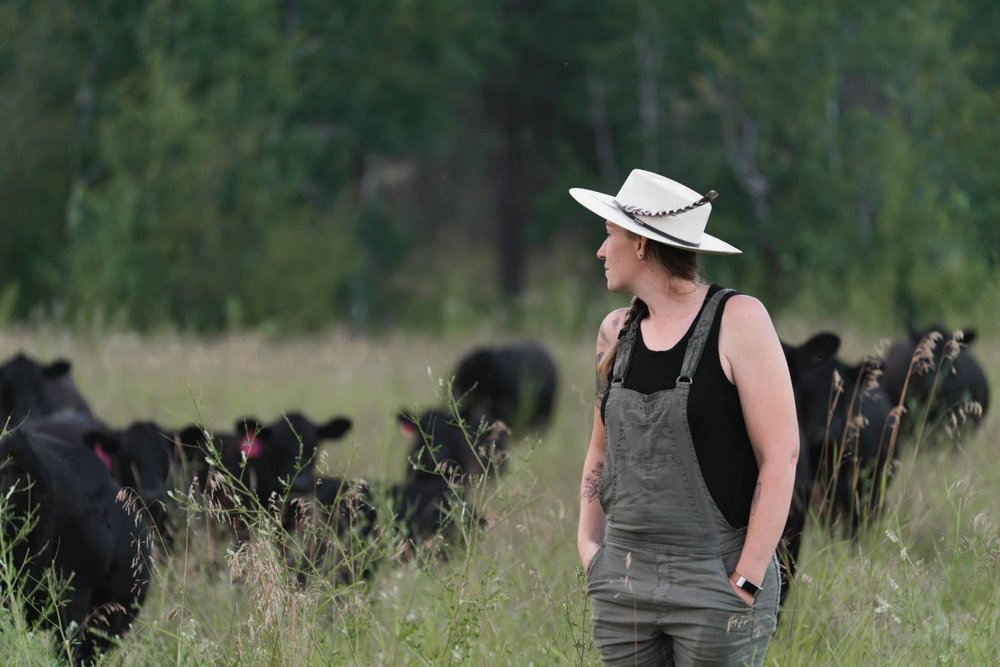 """""""We're kind of the hipsters of grass-fed beef."""" - Beth Robinette"""