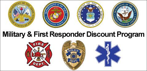 North Point Air & Heat Supports our Military and First Responders - This coupon entitles military and first responders to receive 10% off 1st labor repairs.