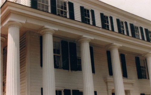 Equinox House Columns after Restoration