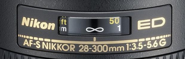 Nikon 28-300 f/3.5-5.6G lens