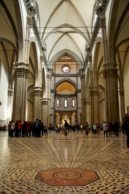 Inside Florence's Basilica