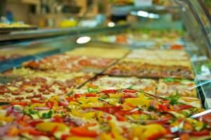 Mmmmmh, pizza!
