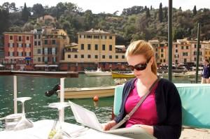 Anka in Portofino
