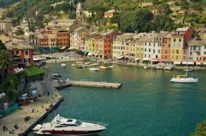 Portofino from above
