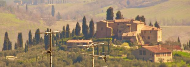 A road trip through Tuscany