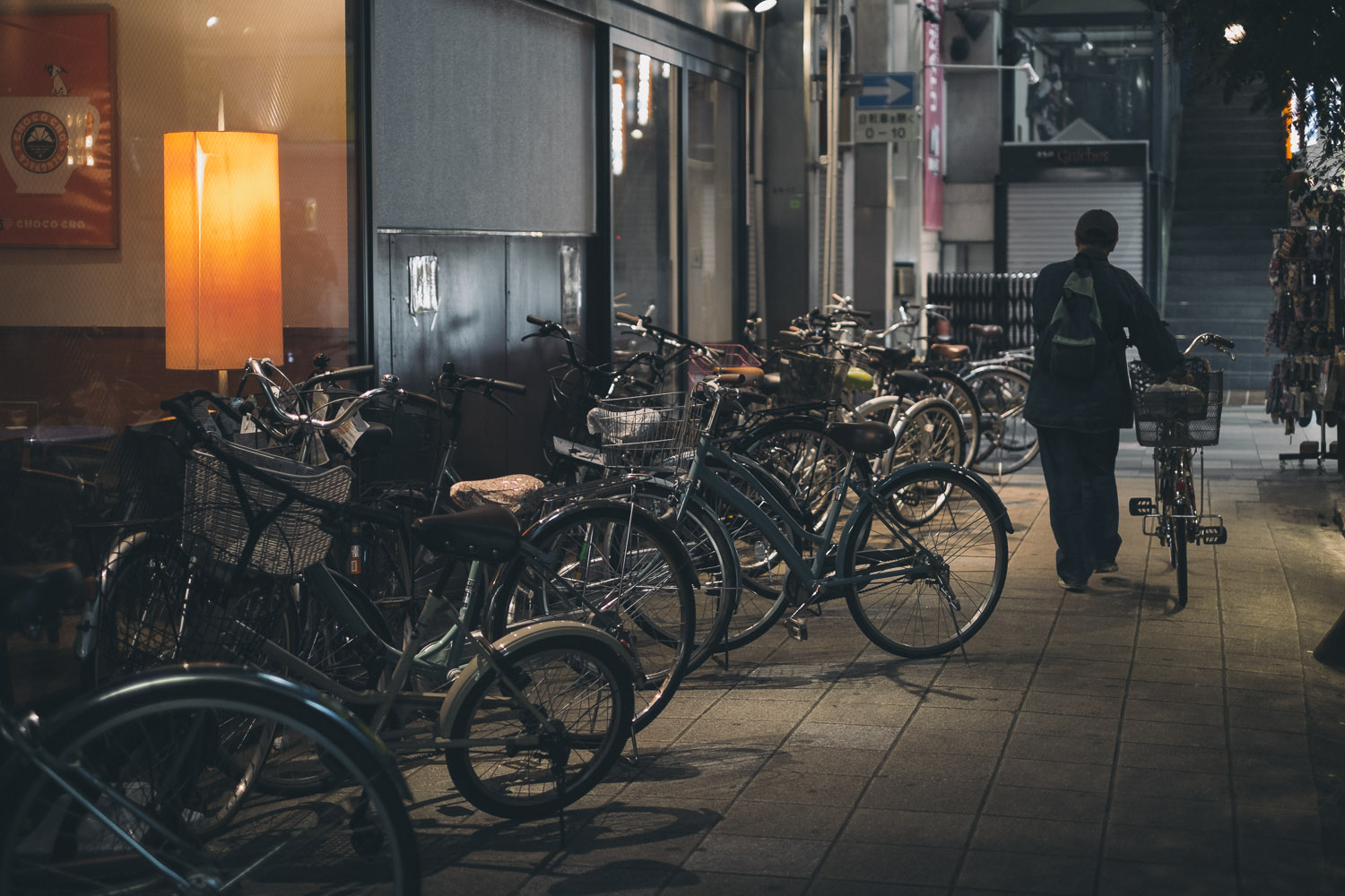 Bicycles are a great way to get around Kyoto.