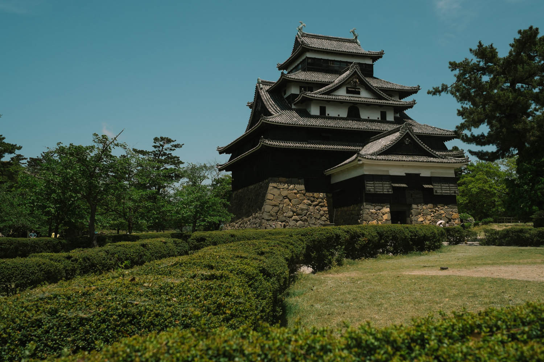 Matsue Castle.