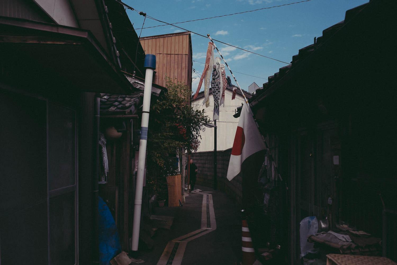 Streets of Matsue.