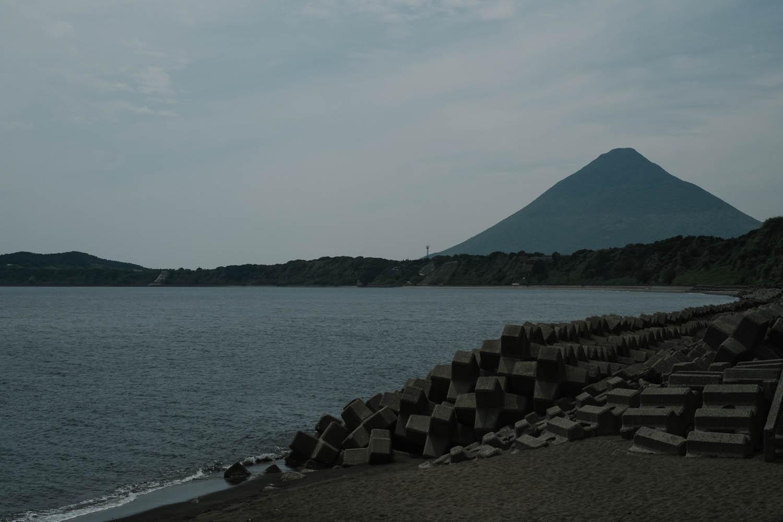 Kaimondake volcano, Ibusuki.
