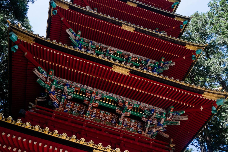 The Five Storied Pagoda, Nikko.