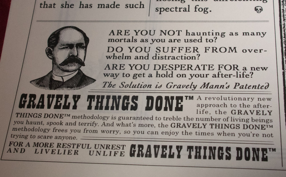 Ghost Post - Grim Gazette Vol2 - GTD ad.jpg