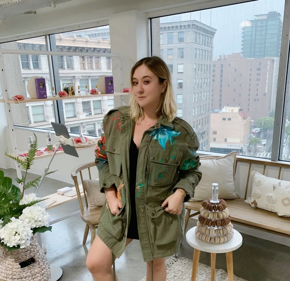 Urban Outfitters dress + Faith Connection jacket