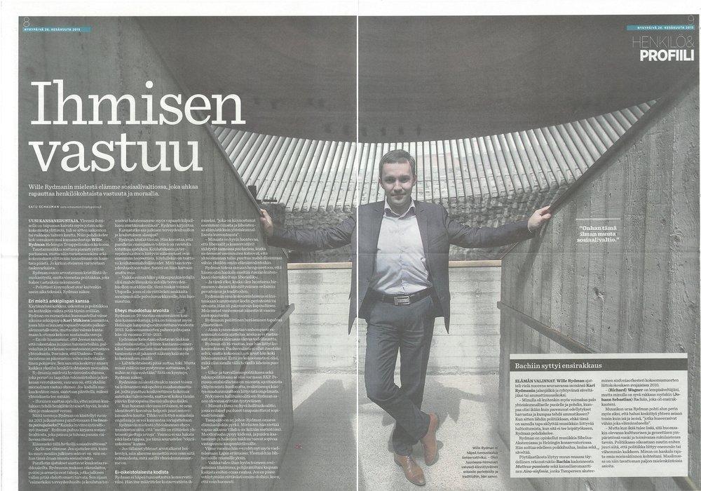 IHMISEN VASTUU - Nykypäivä 26.06.2015