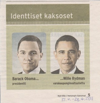 Identtiset kaksoset - NYT-liite / Helsingin Sanomat 15.4.-28.4.2011