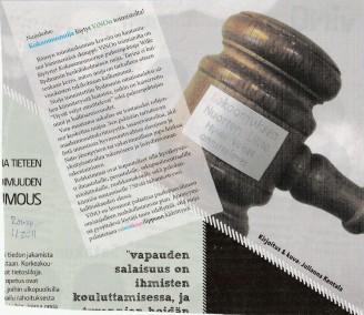 KOKOOMUSNUIJA LÖYTYI LÖYTYI VINON TOIMISTOLTA! - Vihreä Lanka 1.4.2011