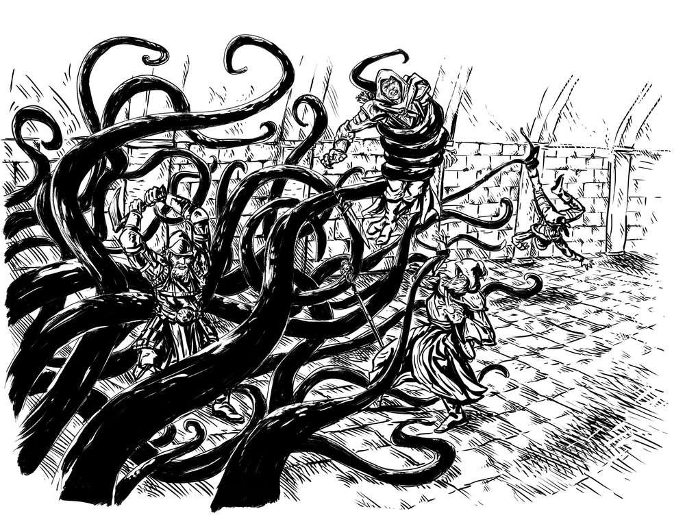 Everything is Better with Tentacles by Matt Morrow