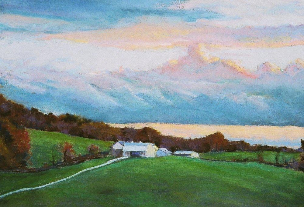 """""""Last Light (Stony Point Farm, Hillsboro)"""""""