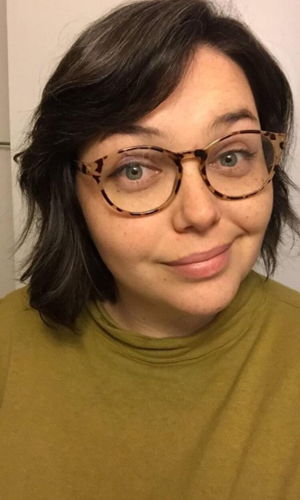 Rachel Gilbert(Beltha) - is pumped to make her audio drama debut! She's a dramaturg, a theatre festival producer, a cross stitcher, a crazy pet lady, and your favorite gal Friday.