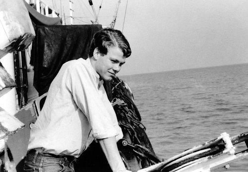 ©   Bob Larkins   , photo taken on board Radio Caroline South's vessel, the mv Mi Amigo.