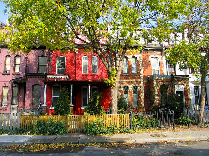 Cabbagetown neighbourhood of Toronto