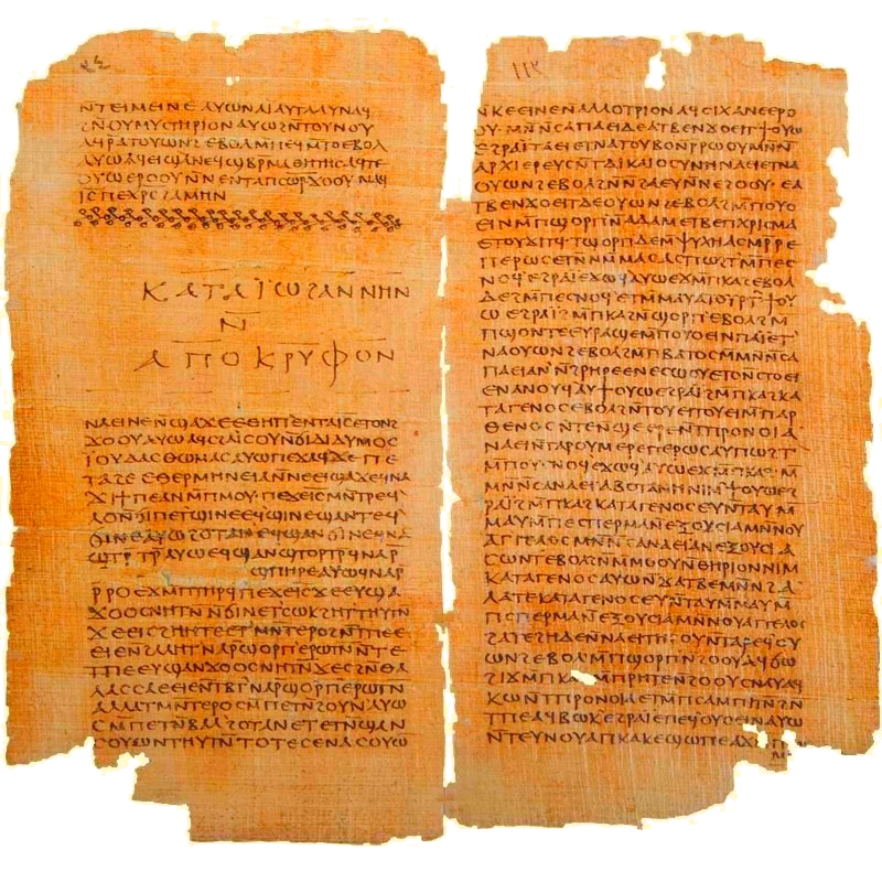 Gospel of Thomas and The Secret Book of John ( Apocryphon of John), Codex II The Nag Hammadi manuscripts