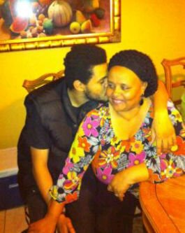 The Weeknd and his mom