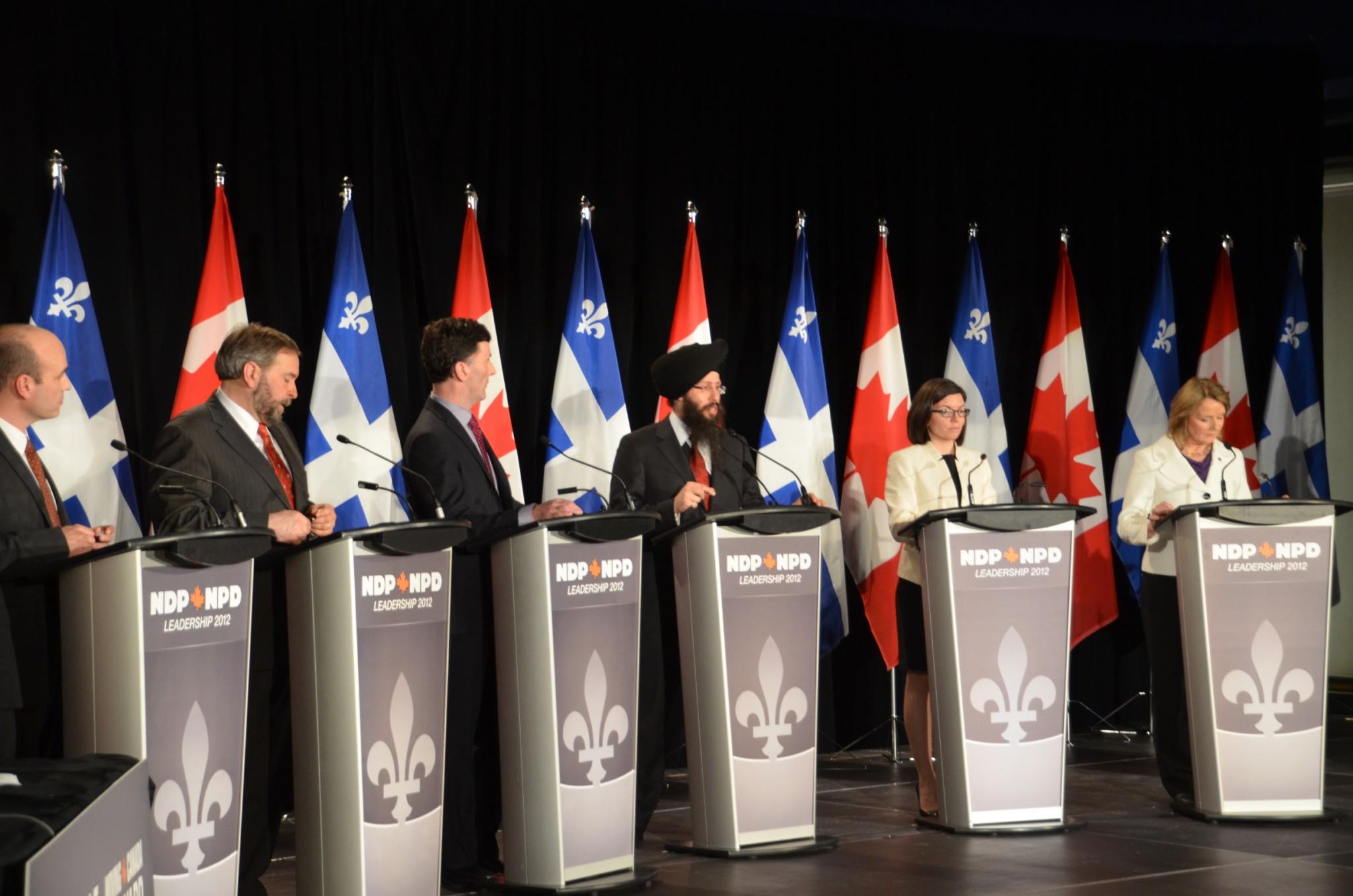 New Democratic Party (NDP) leaders debate