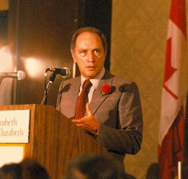 Former Canadian Prime Minister, Pierre Trudeau
