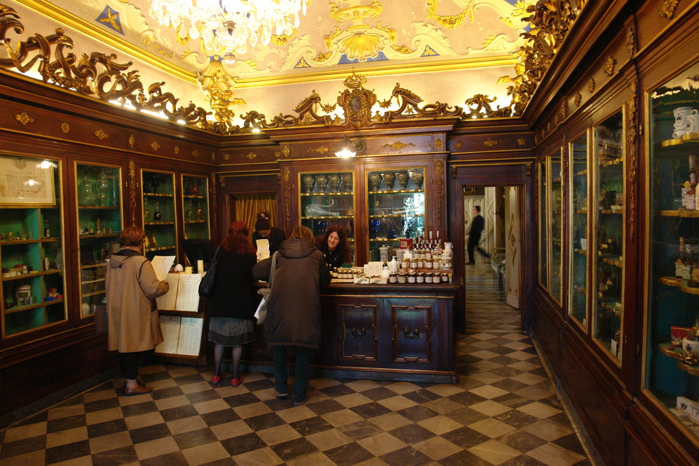 Pharmacy at Santa Maria Novella in Florence