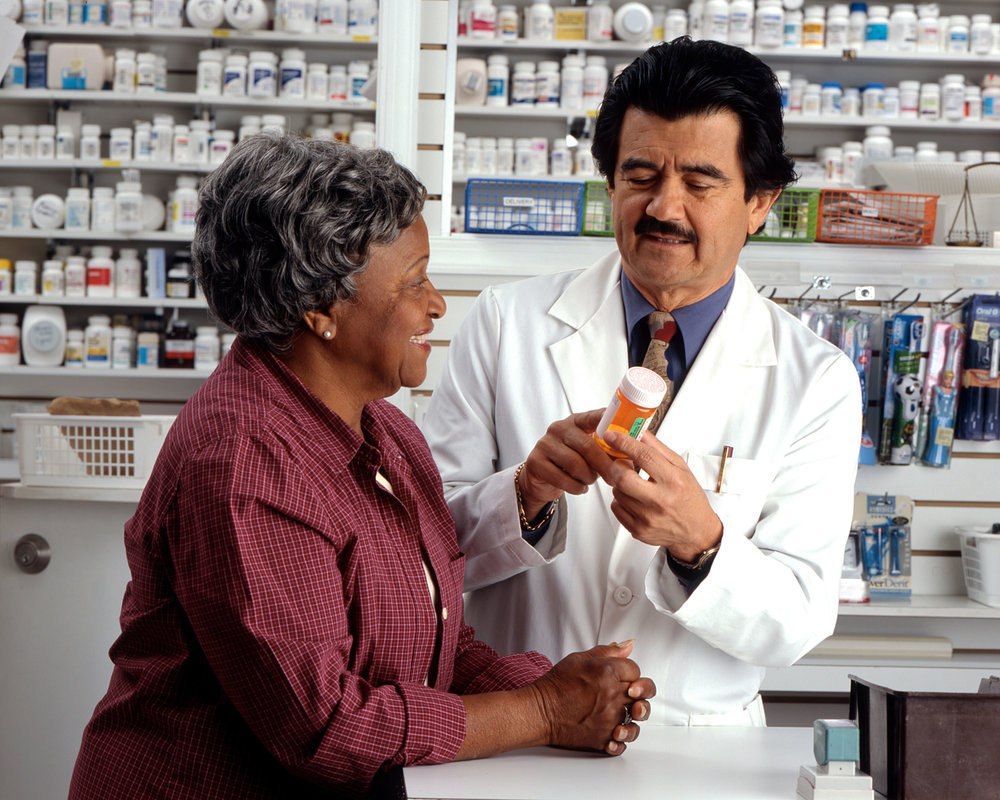 Modern community pharmacy