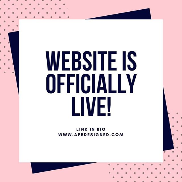 EXCITED TO ANNOUNCE THE OFFICIAL LAUNCH OF THE APBDESIGNED WEBSITE!  Orders can now be made through the website as well as email and DM. Granted there may be some bumps in the first few weeks of the site and not all products available are listed so feel free to reach out with any questions! There's information on the site about who I am and where the name APB Designed came from :) so excited for this next step in renovating your wardrobes!