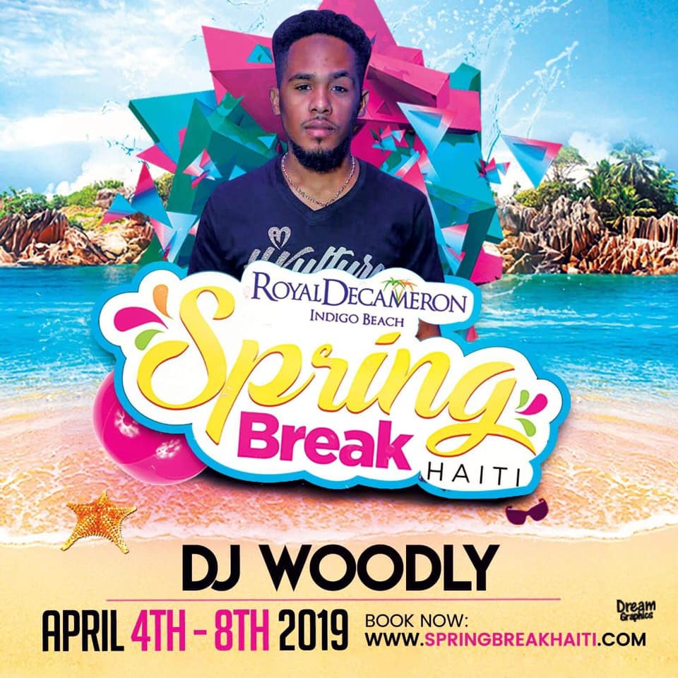Spring Break Haiti 2019 - DJ Woodly