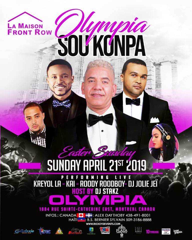 Sunday, April 21, 2019  9 PM – 3 AM
