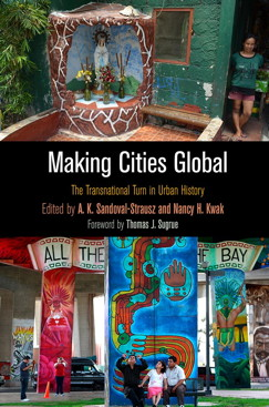 """Making Cities Global - is a co-edited volume with Andrew-Sandoval-Strausz. In this collection, Andrew and I begin with an introduction that lays out the core contributions of a global approach to urban history. I also have a single-authored chapter on the history of danger areas in Manila. In it, I argue the Philippine government used the designation of """"danger areas"""" to remove families from prime central-city real estate. The government's caretaker rhetoric was only distantly related to the primary motives behind mass relocation; protection from environmental threat was hardly a politically neutral project."""