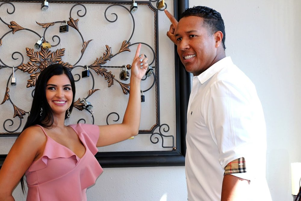 Salvador Perez and Gaby - Love Lock Ceremony.jpg