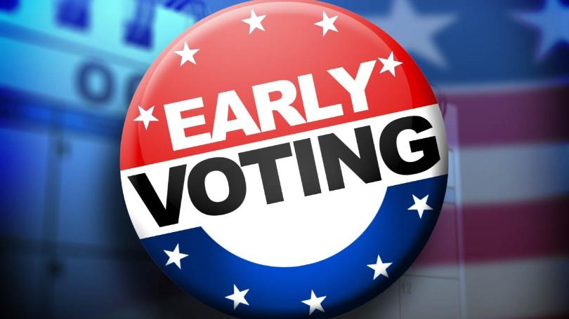 Early voting BEGINS - September 28, 2019
