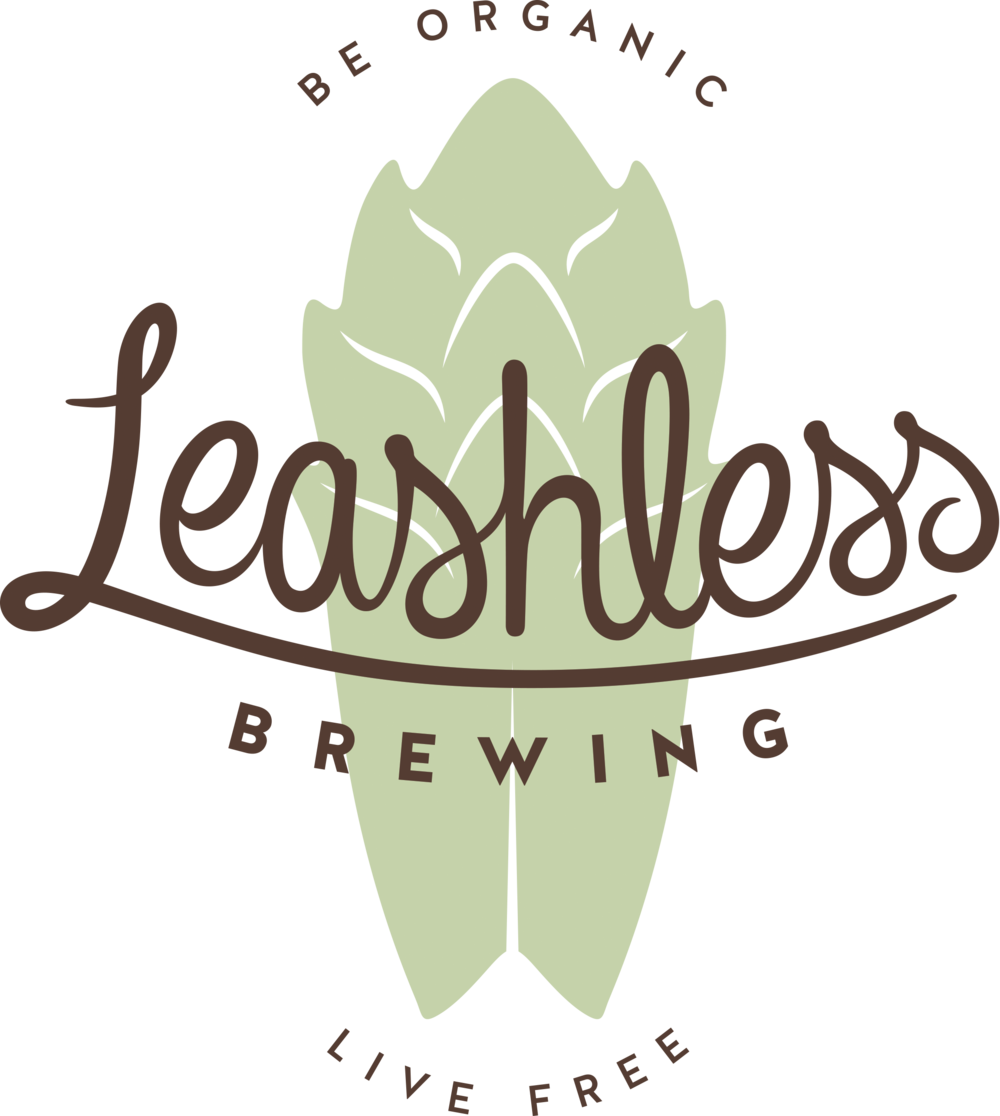 Leashless Brewing - full logo in color