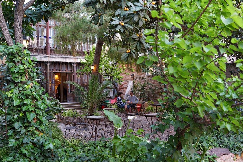 The magical garden at Jiwar