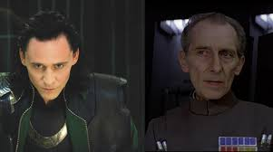 Tom Hiddleston as Tarkin