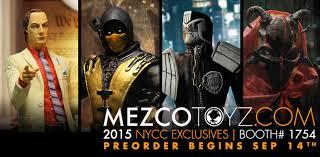 Mezco NYCC Exclusives