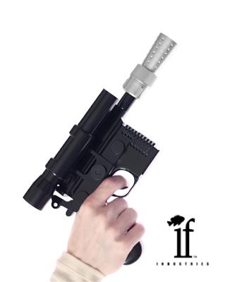 dl44 blaster in hand
